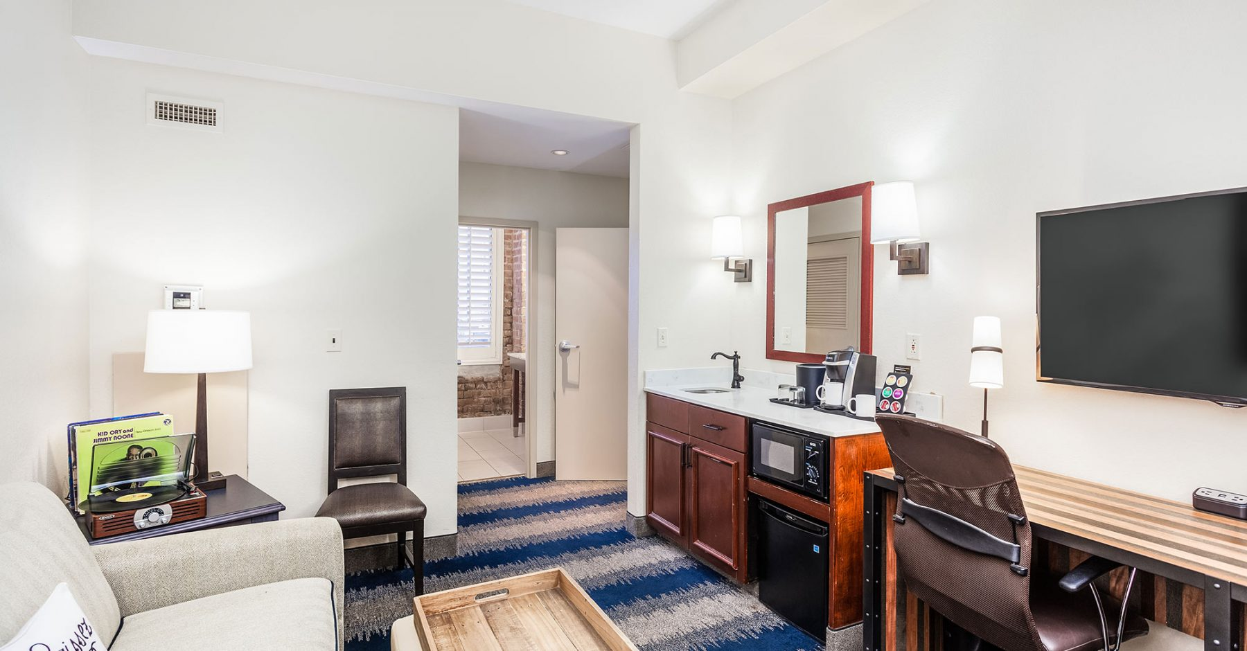 Double Bed Suite | The Mercantile Hotel | New Orleans LA