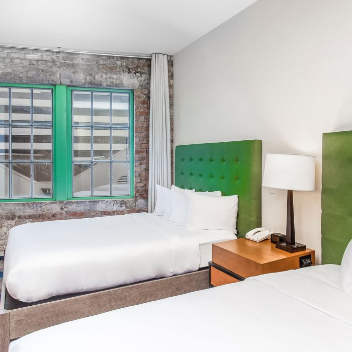2 Queen Bed Suite | The Mercantile Hotel | New Orleans LA