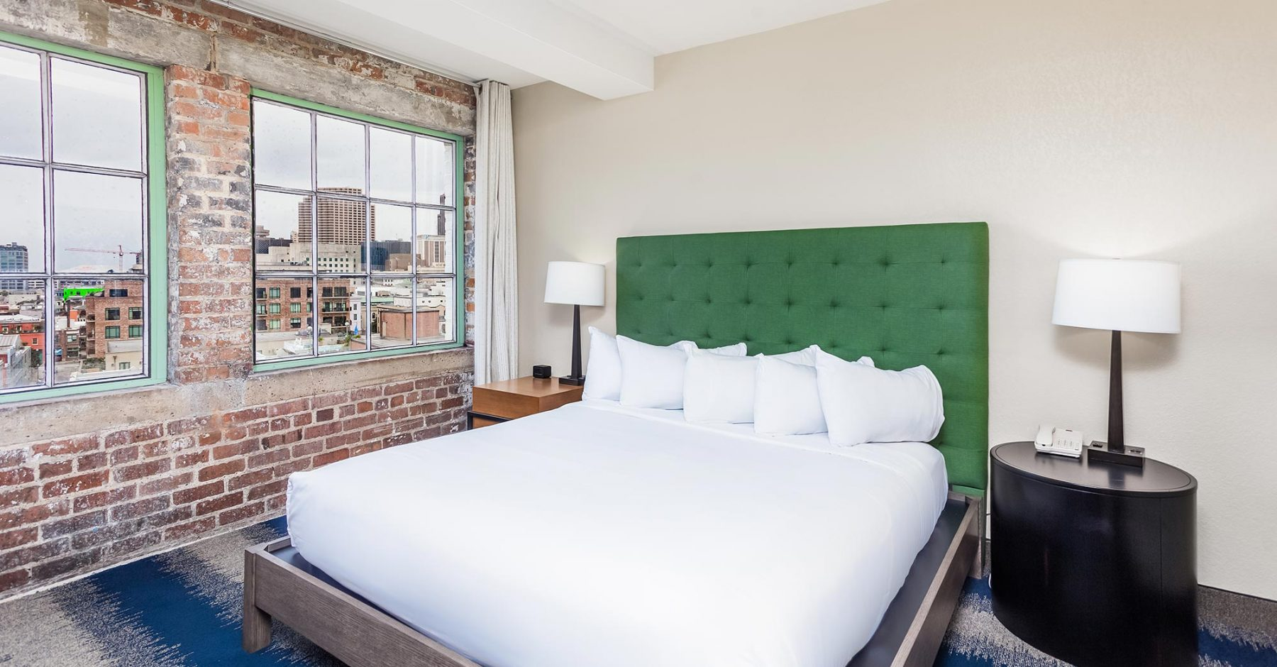 King Bed Suite | The Mercantile Hotel | New Orleans LA