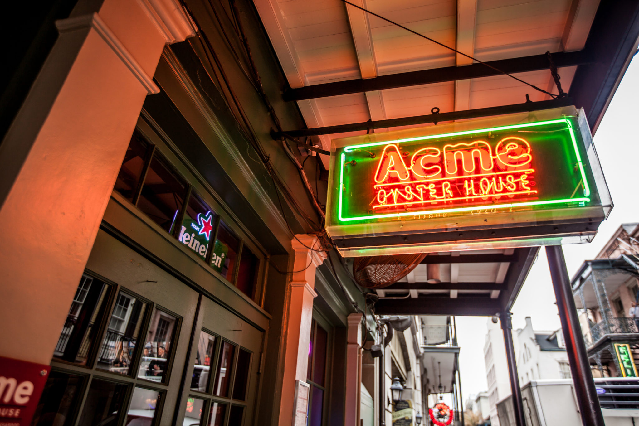 Acme Oyster House Exterior