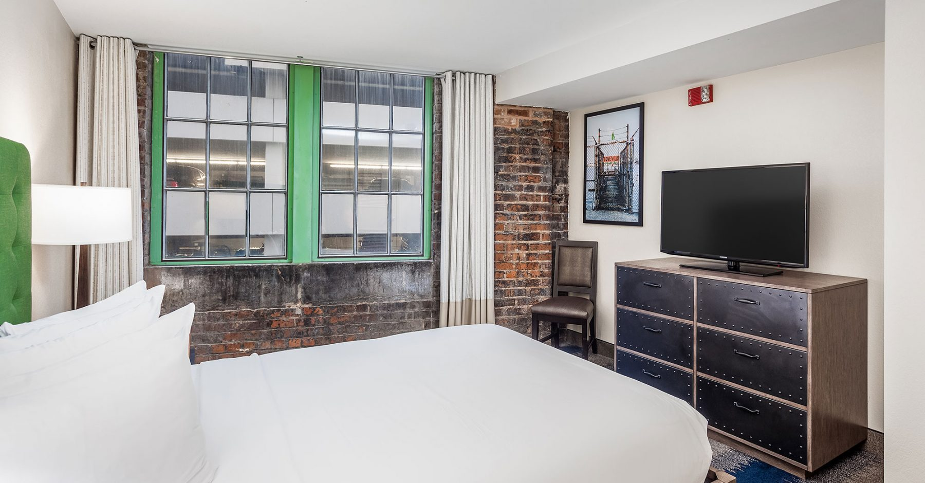Accessible Queen Bed Suite | The Mercantile Hotel | New Orleans LA