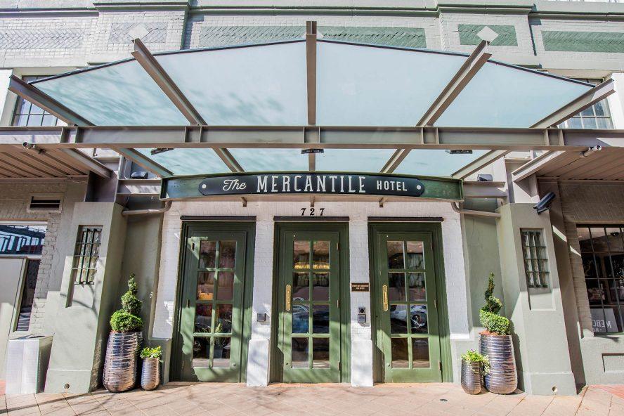 The Mercantile Hotel Exterior