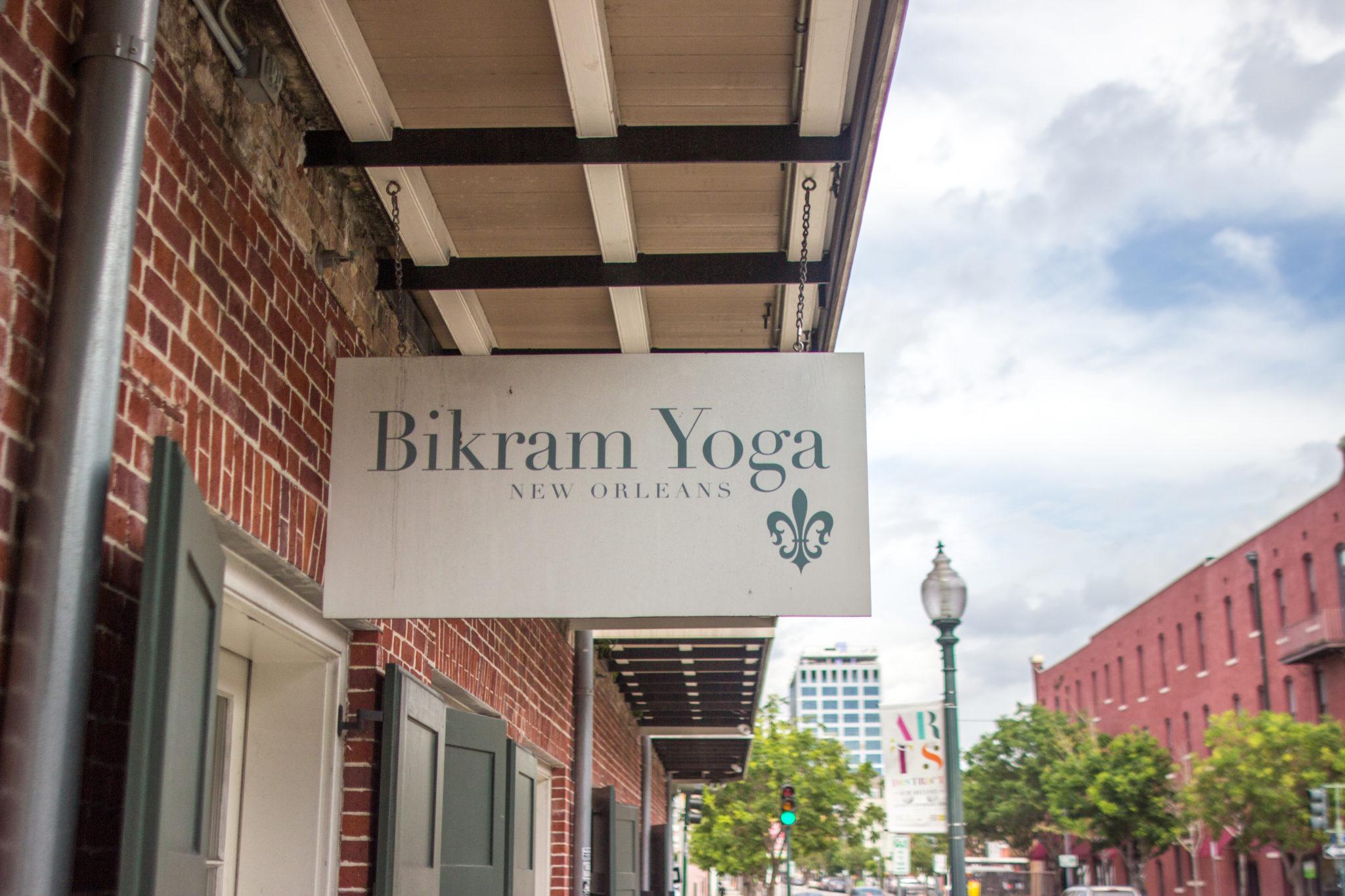 Bikram Yoga Exterior