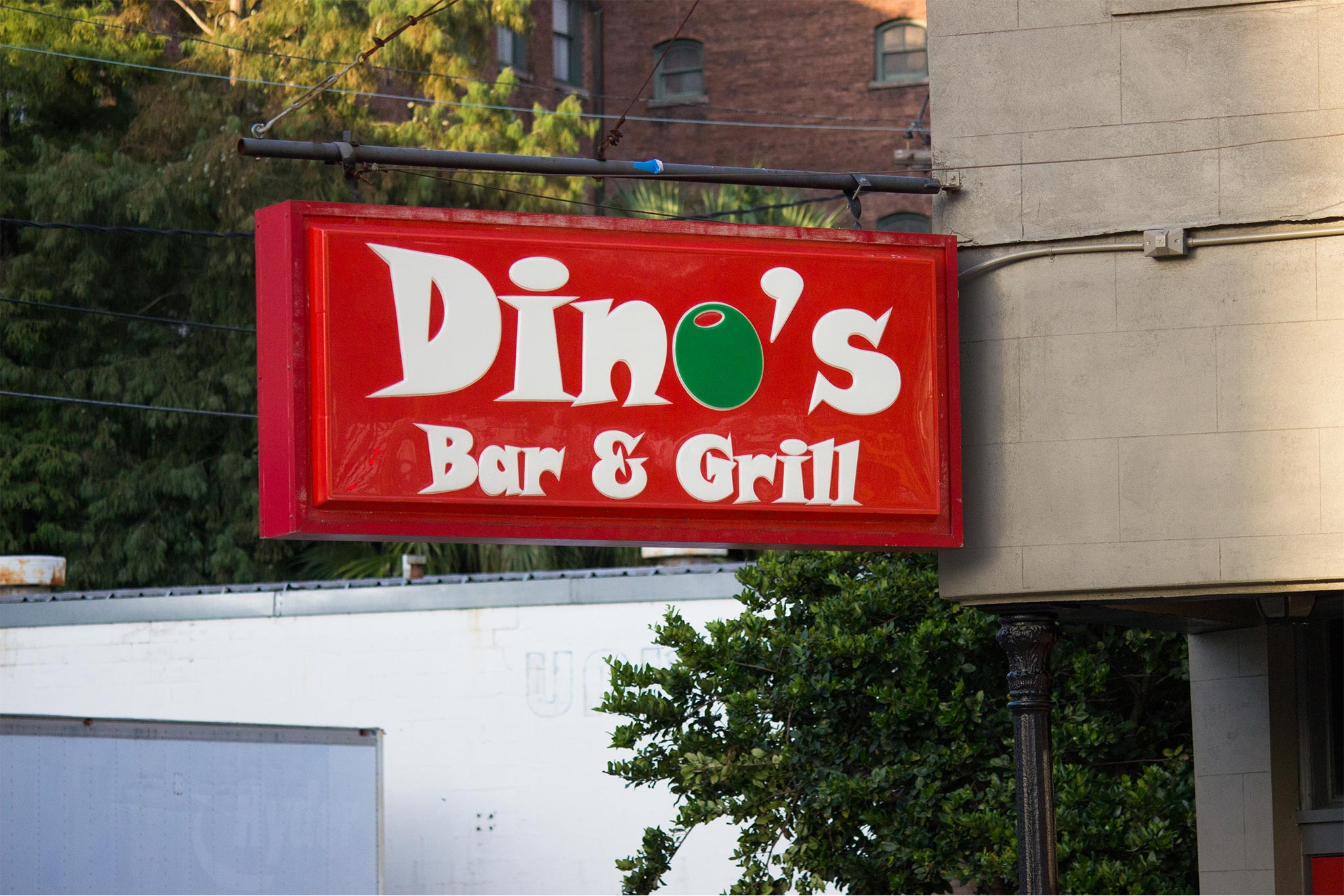 Dinos Bar and Grill Exterior