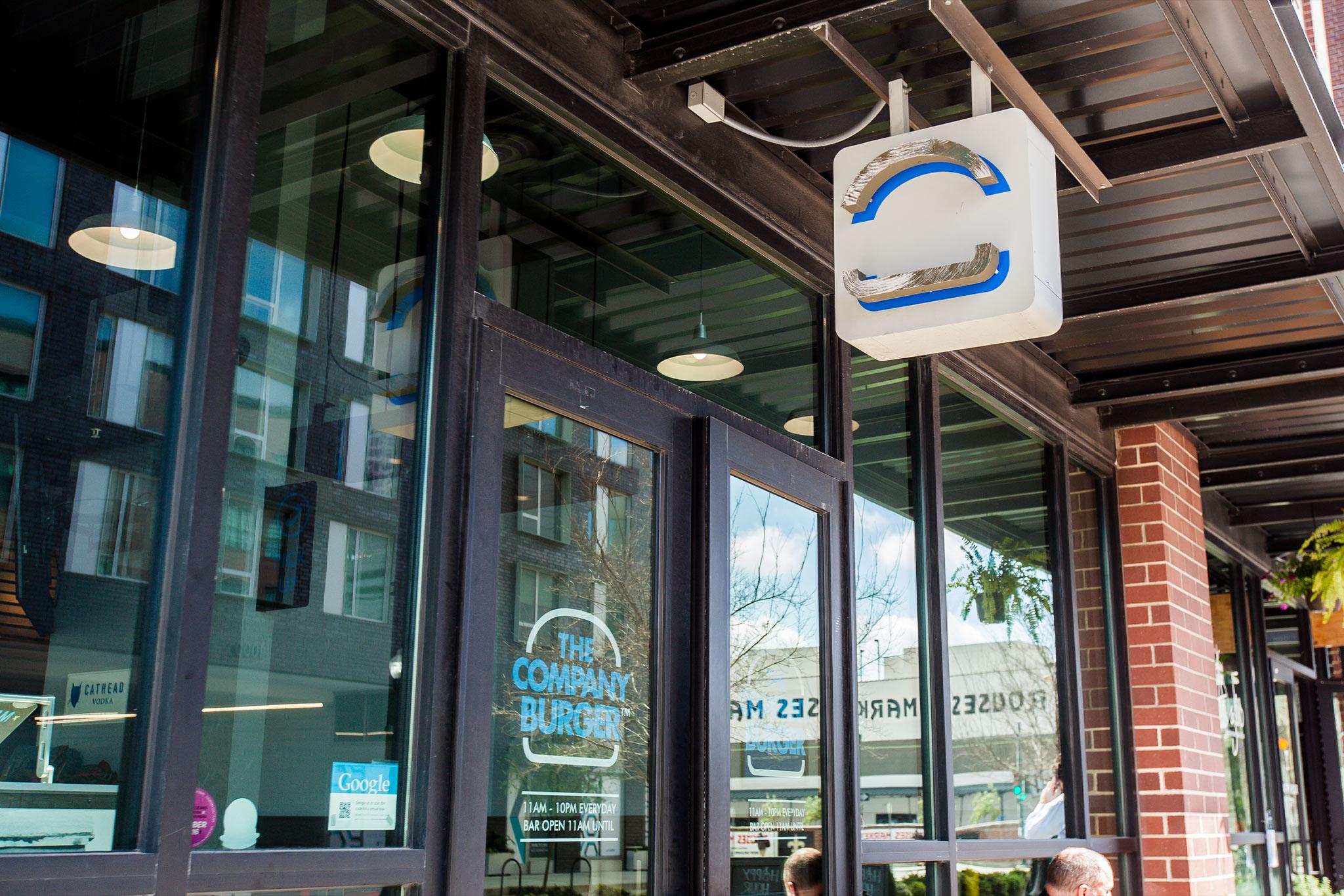 The Company Burger Exterior