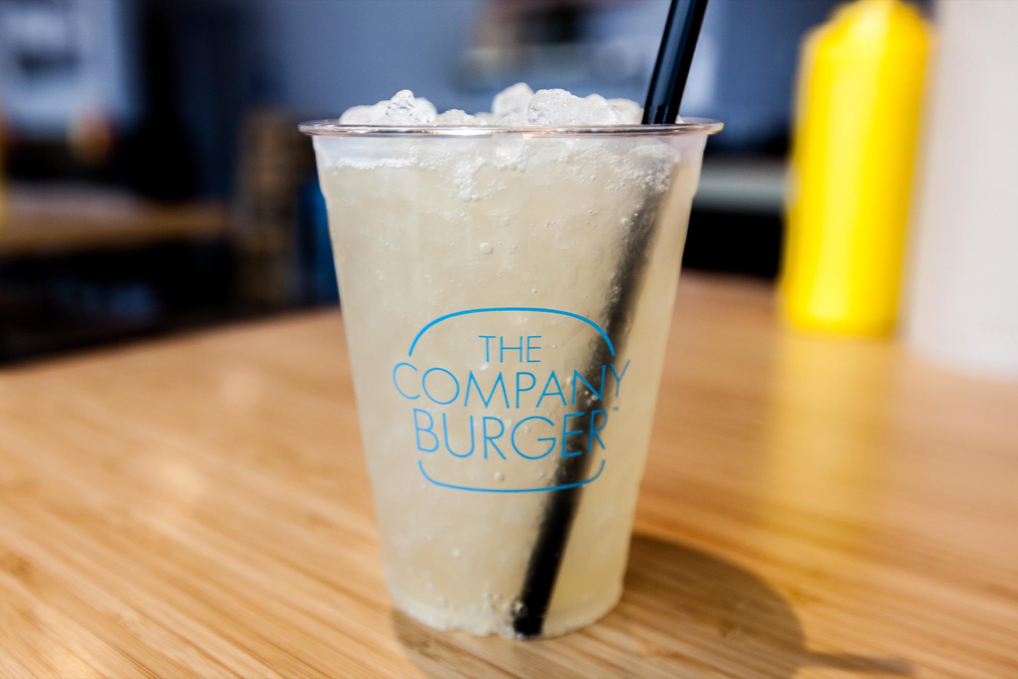The Company Burger Drinks