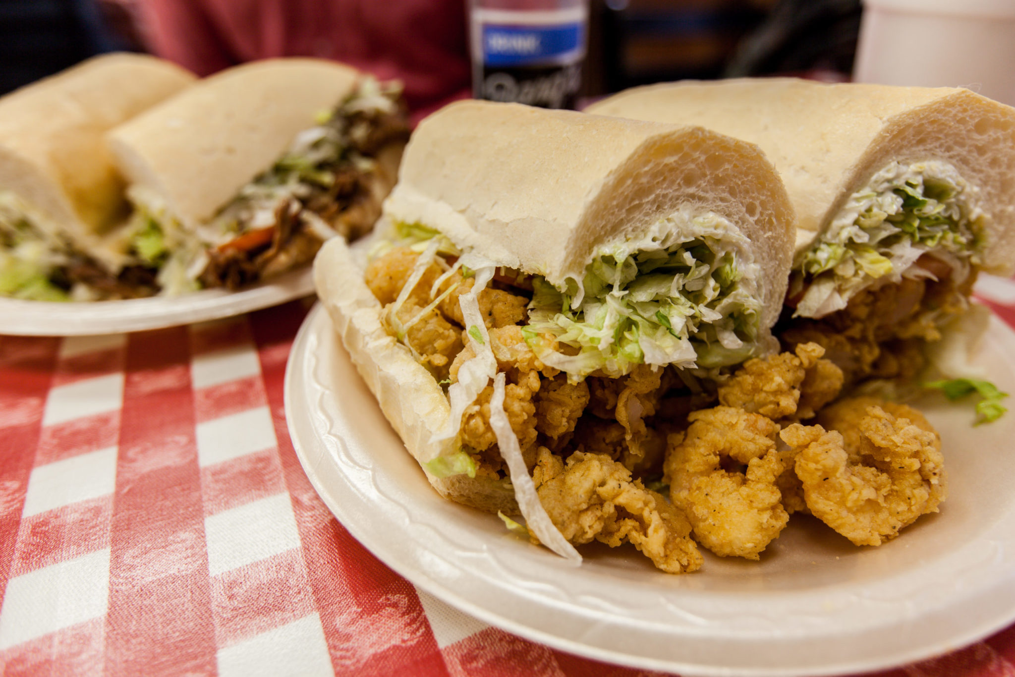 Fried Shrimp Po Boy