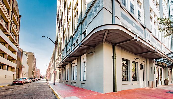 Big Easy Parking   The Mercantile Hotel   New Orleans LA Fulton Garage New Orleans on fulton texas, fulton california, fulton kentucky,