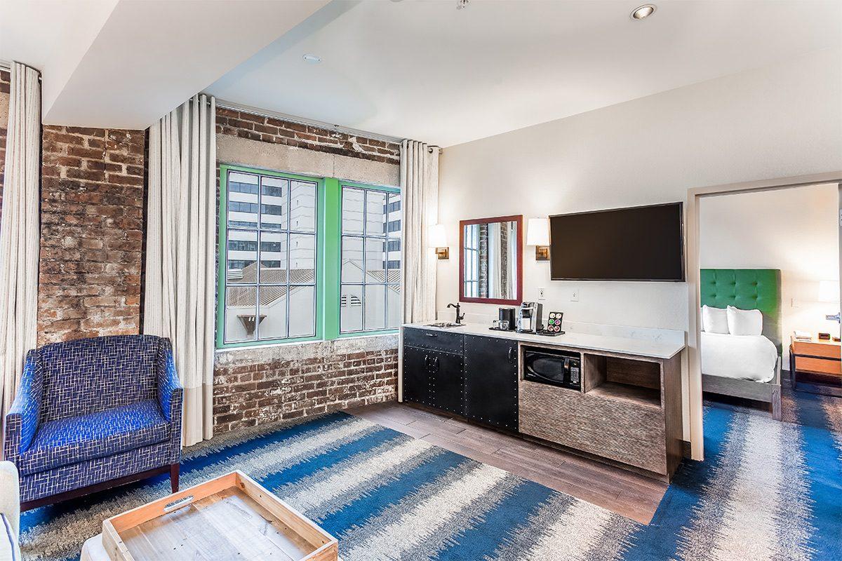 2 Queen Bed Suite | The Mercantile Hotel | New Orleans LA